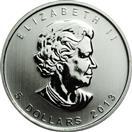 CANADA Silver Coin 5 DOLLAR SILVER COIN